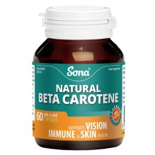 Sona Natural Beta Carotene 15mg 60