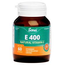 Sona Natural VIT E 400 IU (60)