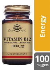 Solgar Vitamin B12 1000UG Nuggets