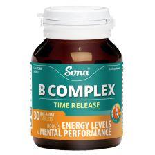 Sona Vitamin B Complex Capsules (30)