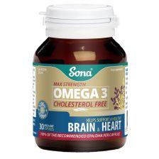 Sona Omega 3 Fish Oil 1000mg 30
