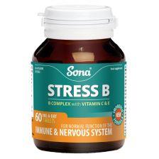 Sona Stress (B + E + C500) Tablets (60)