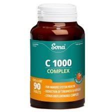 Sona Natural VIT C Complex 1000MG (90)