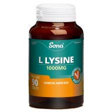 Sona L-Lysine Tablets 1000Mg 90