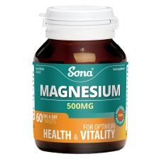 Sona Magnesium Tablets 500mg 60