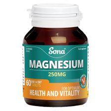 Sona Magnesium Tabs 250mg 60