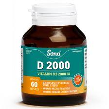 Sona D2000 Capsules (60)