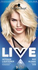 Schwarzkopf Live Hair Colour Max Blonde 00B