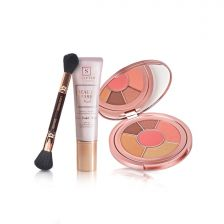 Sculpted Bundle - Double Ended Brush, Full Face Edition & Beauty Base Pearl By Aimee Connolly