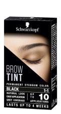 Schwarzkopf Brow Tint Black 17ml