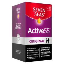 Seven Seas Active55 Original Capsules Omega-3 & Glucosamine 60 Capsules