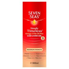 Seven Seas Cod Liver Oil Maximum Strength liquid 300ml
