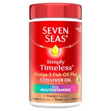 Seven Seas Cod Liver Oil Plus Multivitamin Capsules 90's