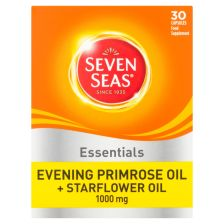 Seven Seas Essentials Evening Primrose Oil + Starflower Oil 1000 mg 30 Capsules