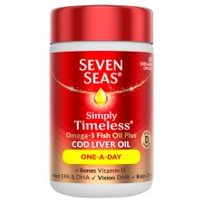 Seven Seas Pure Cod liver Oil Once a Day 60 Capsules
