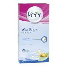 Veet Body Wax Strips - Sensitive Skin (20)