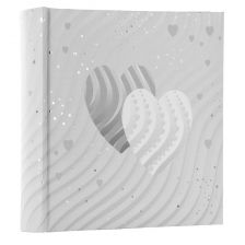 Goldbuch Photo Album Silver Hearts