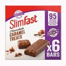 Slimfast Chocolate Caramel Snack Bar Multipack - 6 Bars