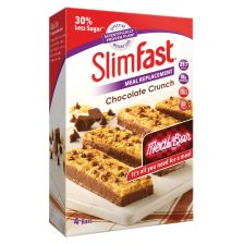 Slimfast Chocolate Crunch Meal Replacement Bar Mulitpack - 4 Bars