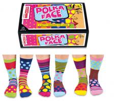 Sock Academy Polka Face 3pk
