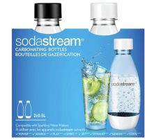 Sodastream Twinpack Carbonating Bottles 0.5L