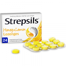 Strepsils Lozenge Honey & Lemon - 24 Pack - 8283558 OTC