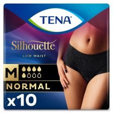 Tena Lady Silhouette Normal Noir Pants Medium - 10 Pack