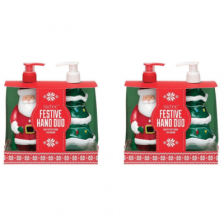Christmas Novelty Festive Hand Wash Duo - 2 For €10