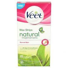 Veet Wax Strips Natural Inspirations 20 Pack