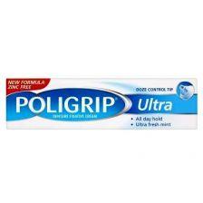 Wernets Poligrip Ultra Denture Fixative Cream 40g
