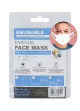 Reusable Spandex Face Mask White